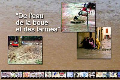 DVD sur les inondations de 1992 en Vaucluse