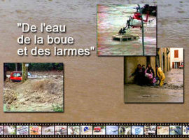 DVD De l'eau de la boue et des larmes